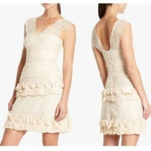 BCBG Aglaia Lace Dress Size 4